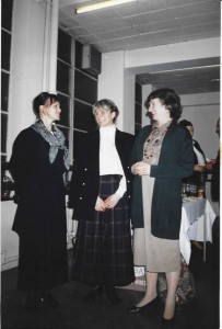 Left to right Lesley Collier, Patricia Linton and Cara Drower